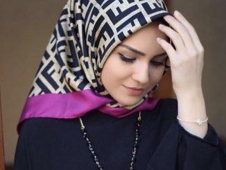 tesettürde eşarp bağlama, tesettürlü bayanlarda baş bağlama, tesettür kıyafetli bayanlar başını nasıl bağlamalı
